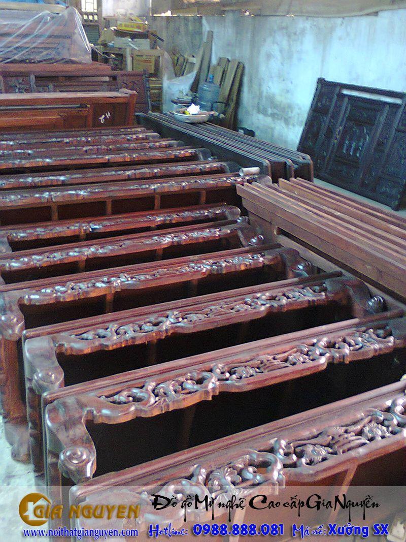 Hình 04 - Bán tủ thờ tại xưởng sản xuất